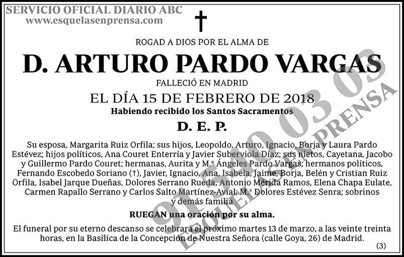 Arturo Pardo Vargas